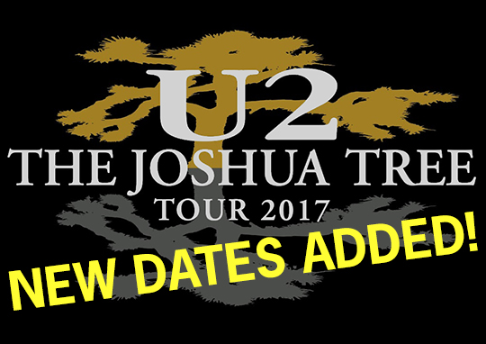 Ufficiale, Il The Joshua Tree Tour proseguira' in Nord e Sud America