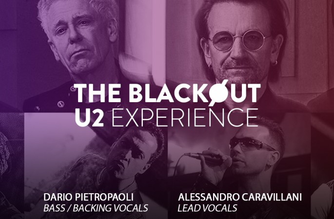 """The Cover Moment: """"THE BLACKØUT – U2 EXPERIENCE"""""""